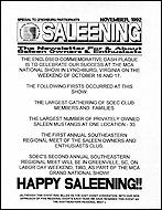 November Flyer 1992