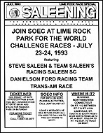July Flyer 1993
