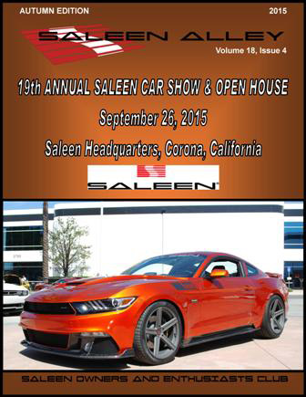 Saleen Alley - Autumn 2015