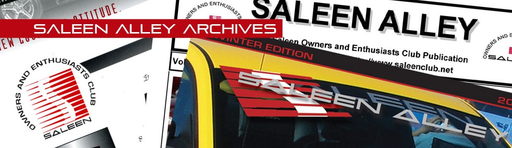 Saleen Alley Archives