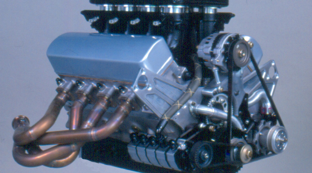 2001 Saleen S7 Press - Engine