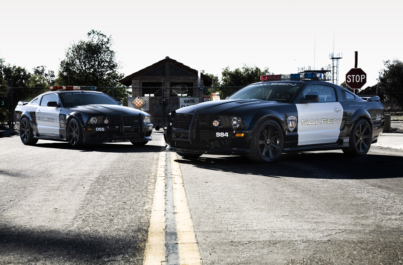 SALEEN EXTREME STARS AS 'DECEPTICON' POLICE CAR IN 'TRANSFORMERS' | Saleen Owners and ...