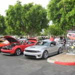 SPV visiting Cars and Coffee Irvine.