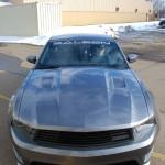 2010 Brenspeed / Speedlab Drag Car - Hood View