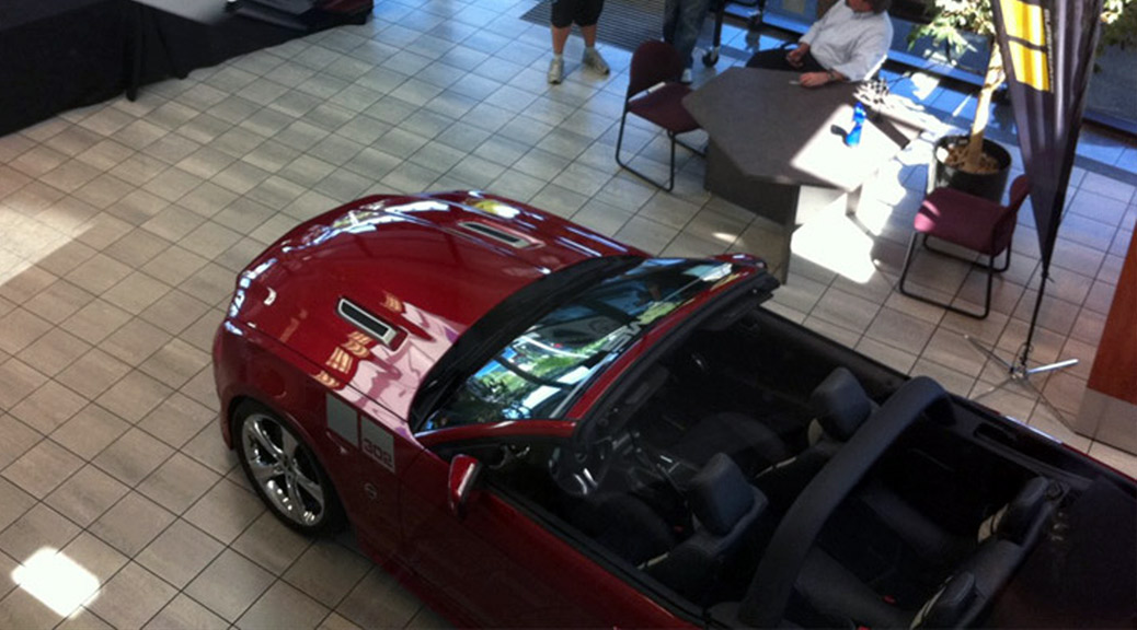 LANDMARK FORD SHOWCASES SMS 302 (11-021) MUSTANG CONVERTIBLE