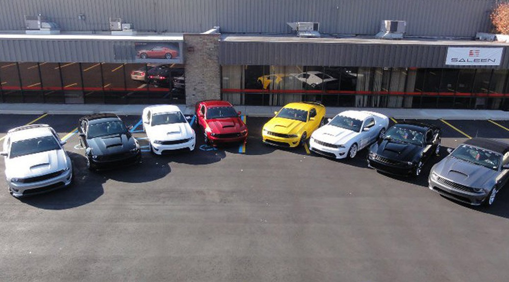 New SPV Mustangs