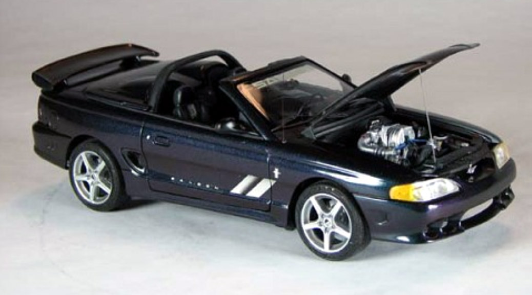 Scale Model of 95-0010 S351 Speedster