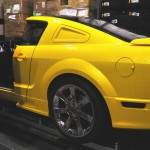 The Saleen Store Extreme Display Cutaway