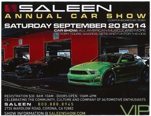 2014 Saleen Show