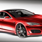 Tesla S Front Rendering