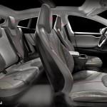 Tesla S Interior Rendering
