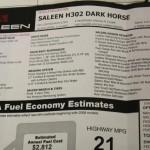 09-0002 Dark Horse