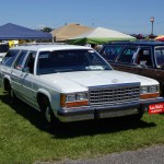 Dan Foulk, 1987 Ford Crown Victoria, SOEC Celebrity Pick Winner