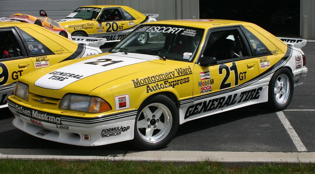 88-0021R SS/GT Saleen Mustang