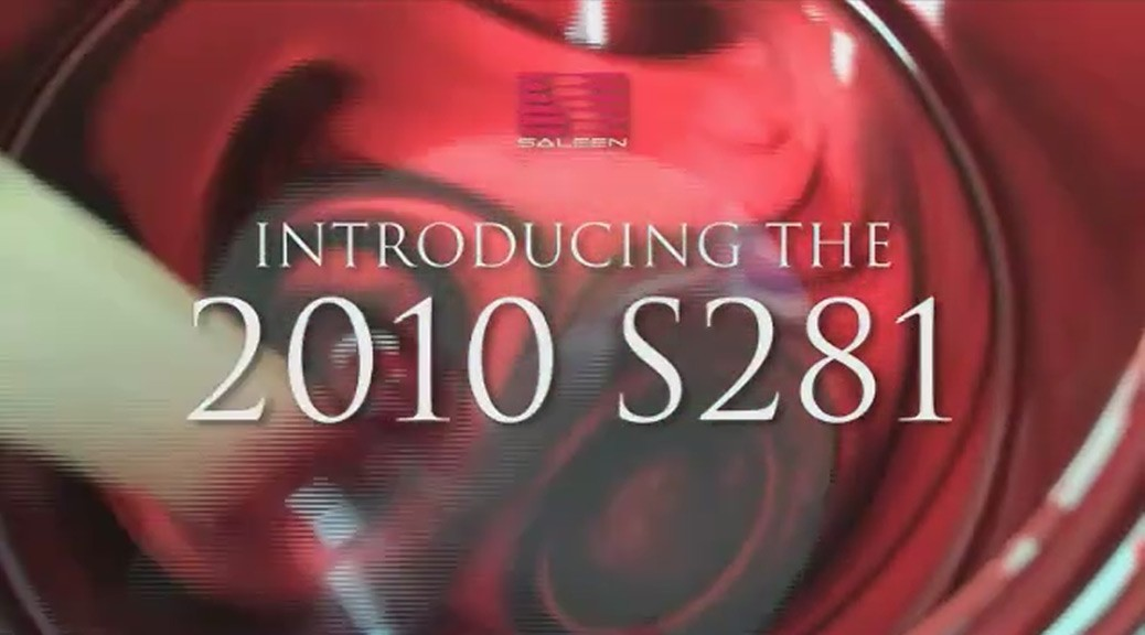 Introducing the 2010 S281