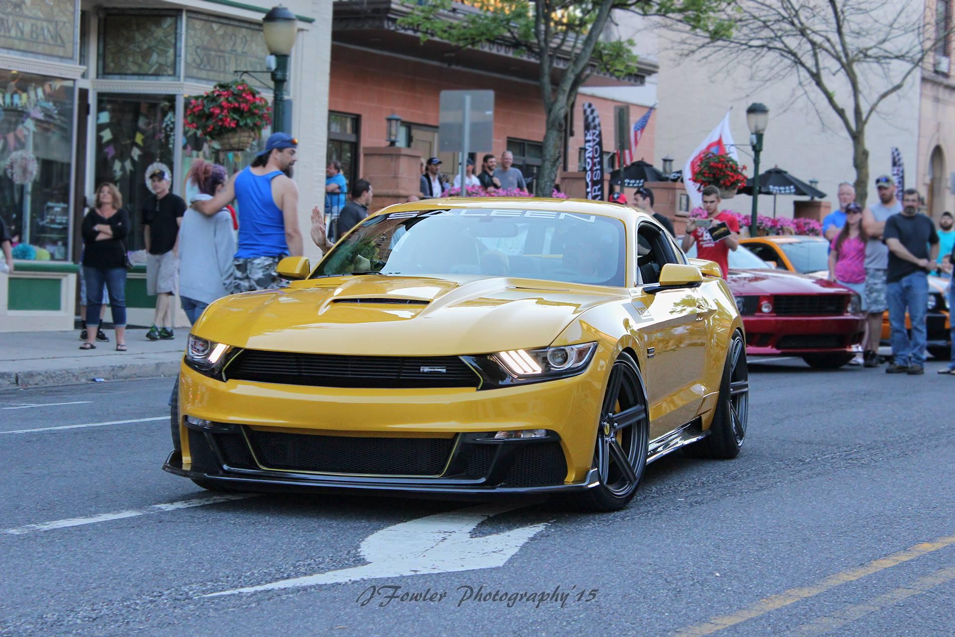 Steve Saleen behind the wheel - 2015 302 Black Label, Carlisle PA