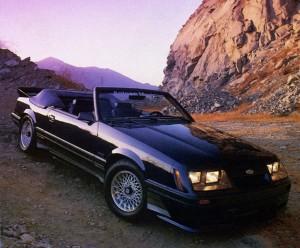 85-0038 Saleen Mustang convertible - Hot Rod Magazine