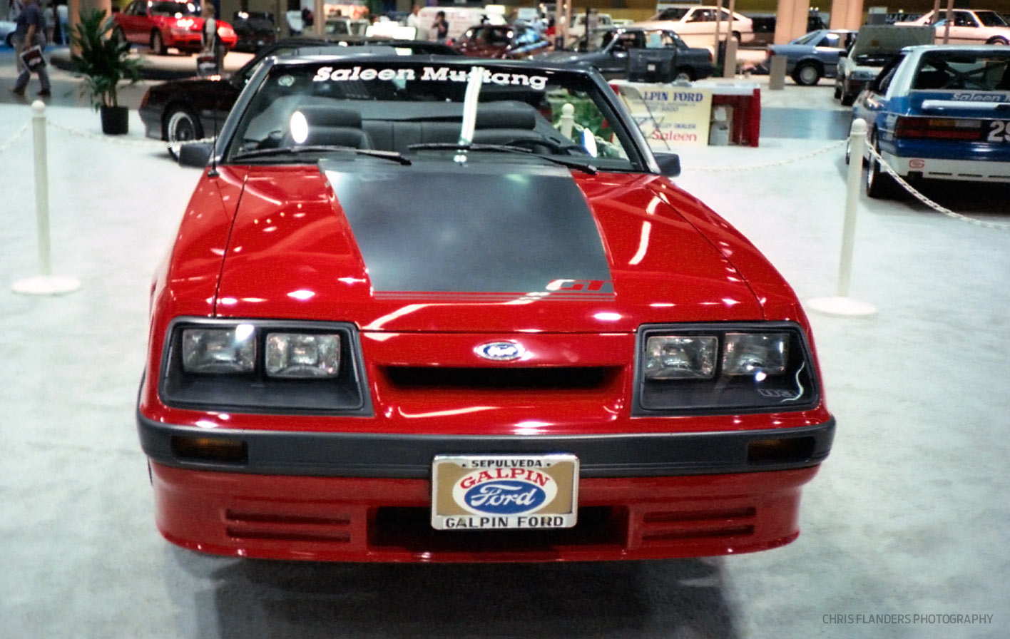 Then Now 86 0083 Those Elusive Convertibles Of 1986 Saleen Ford Mustang Gt Convertible