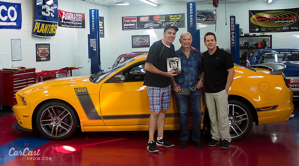 Parnelli Jones visits CarCast