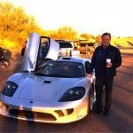 Starbucks and Saleen — a perfect way to start the day
