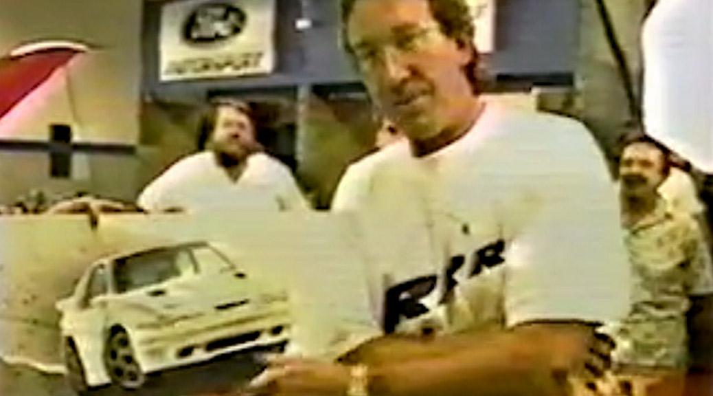 ET: Tim Allen & his 1993 Saleen Mustang RRR