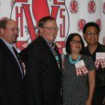 HoF Inductees: Steve Saleen, John Lasseter, Ivannia Soto-Hinman and Marc Bermudez In memorium inductee: Heber Holloway