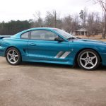 94-0024 S351 in Non-standard Teal paint