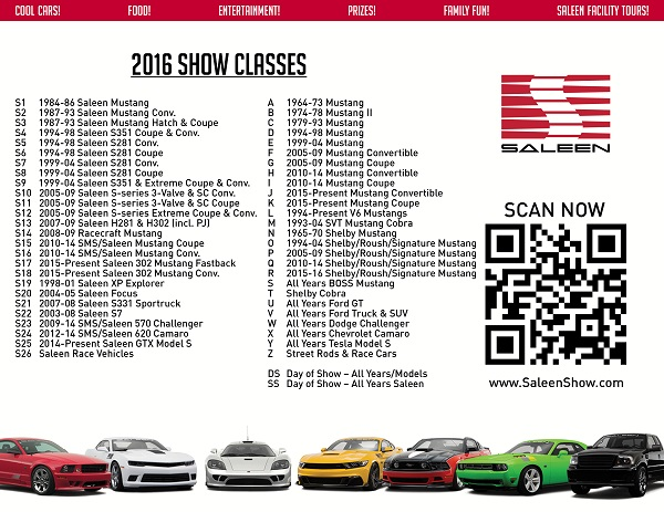 Saleen Annual Car Show
