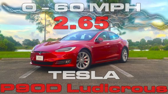 New Tesla Model S jets to 60 mph