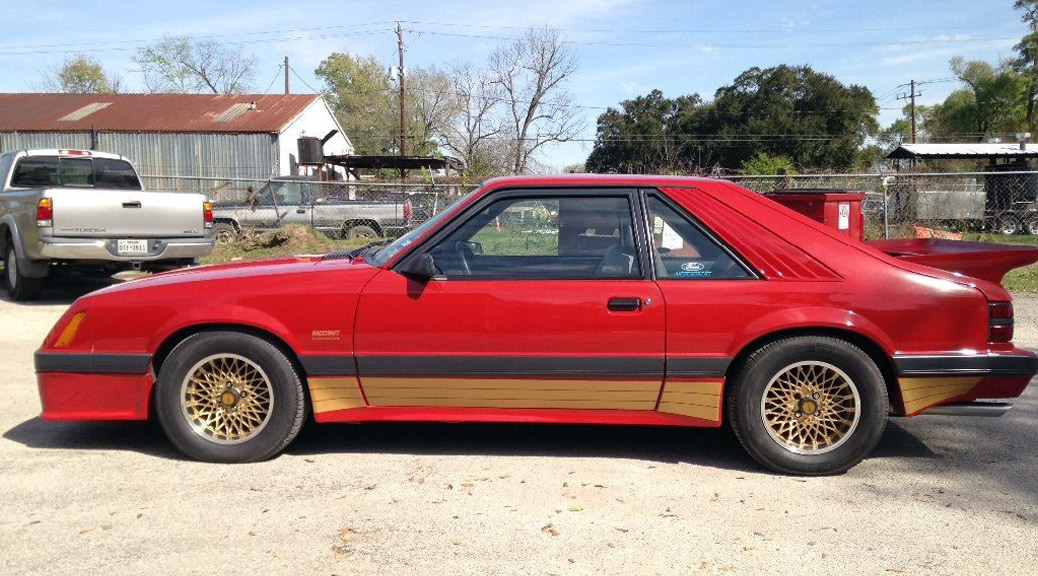 Early 1986 saleen mustang 86 0018 lands on ebay for Cross country motor club phone number