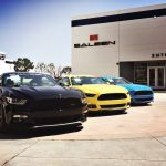 2017 S302 Saleen Mustangs headed for Greenwood Ford