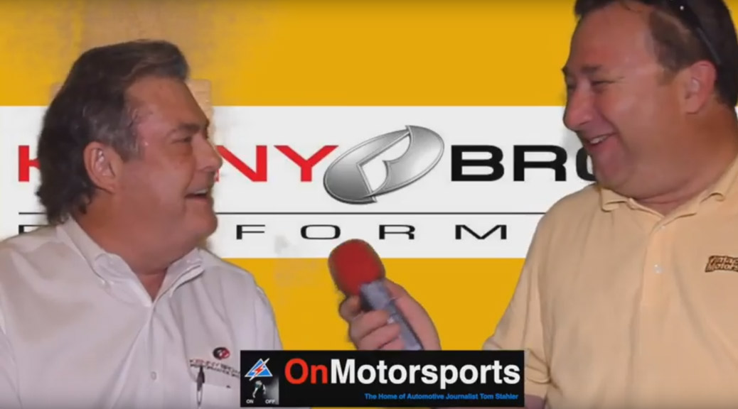 Kenny Brown talk of Early Days of Saleen Racing