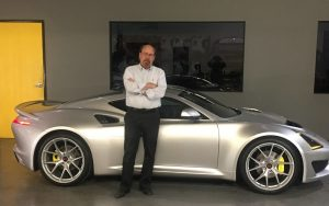 Steve Saleen shows off his latest creation, the S1 supercar - Saleen Automotive