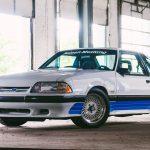 1987 Saleen Mustang front 3/4