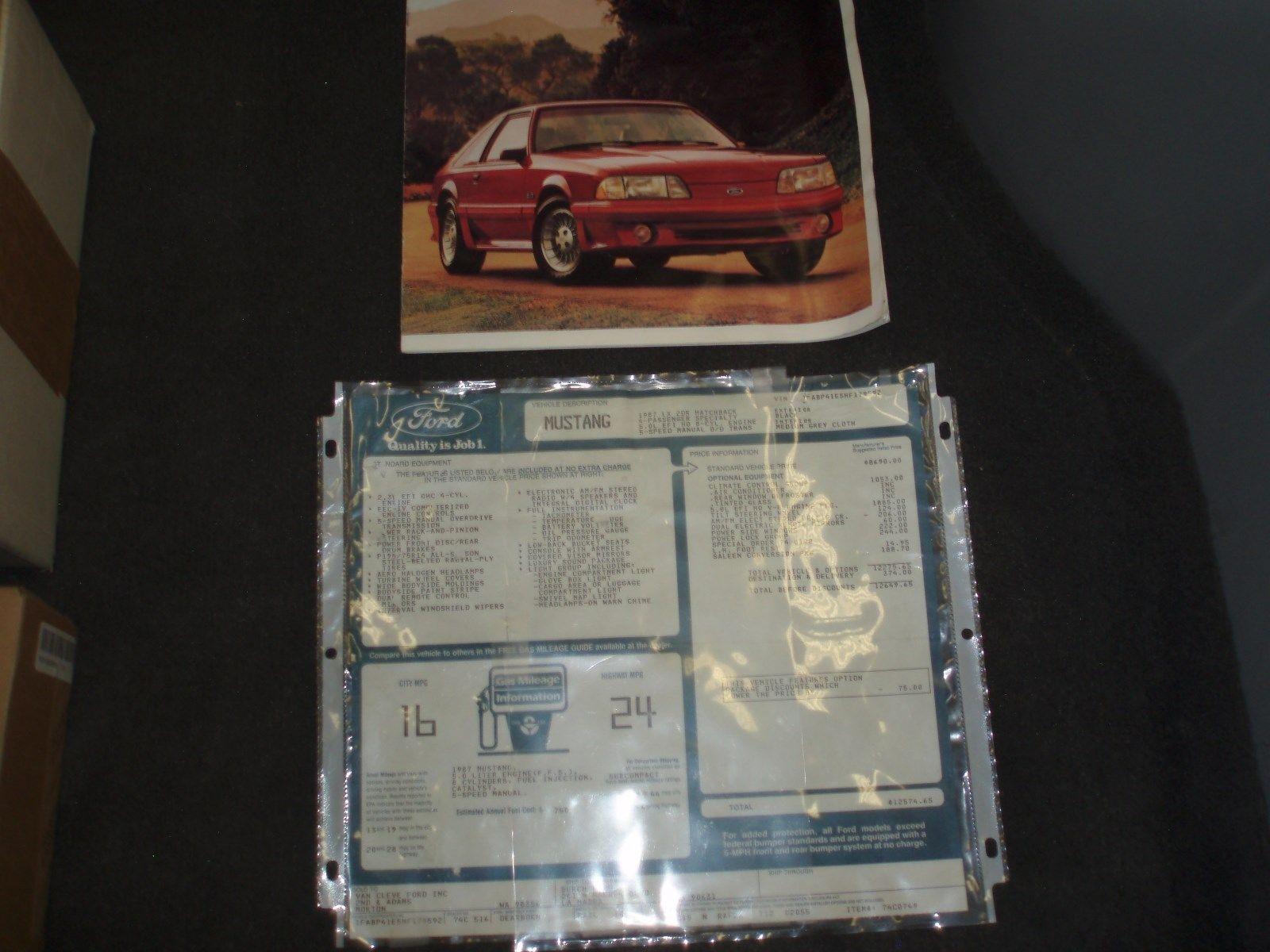 87-0102 Saleen Mustang