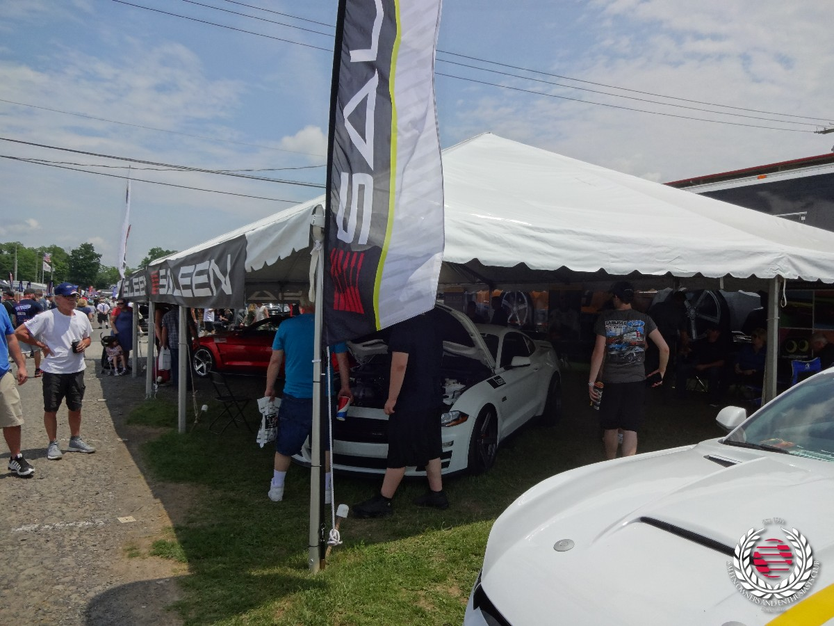 Saleen display tent