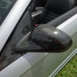 Saleen carbon fiber rear view mirror