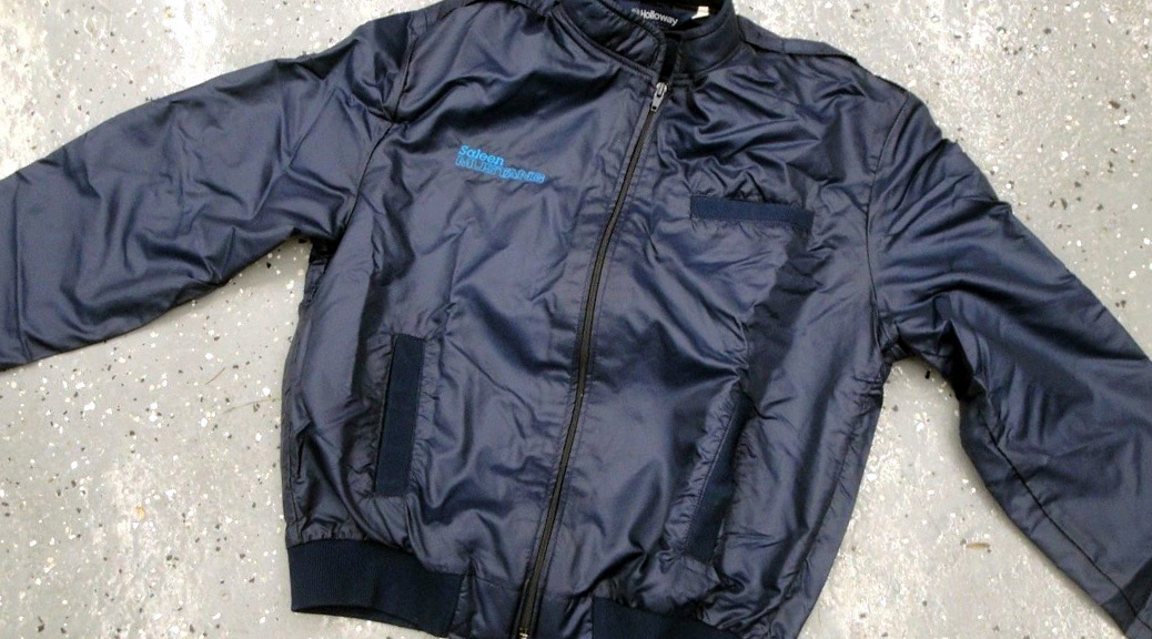 Early Saleen Mustang Owners Jacket