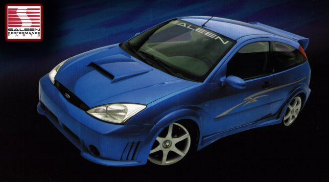 Saleen Performance Parts 2004 Focus Body Kit