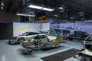 Saleen S7 LM assembly area (photo by Josh L) @alphaluxe