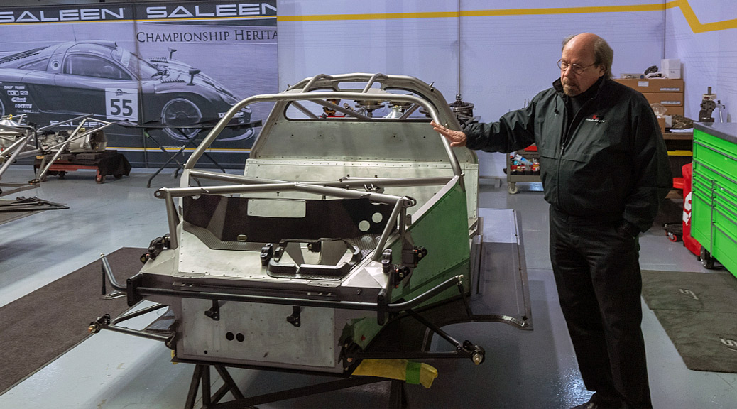 AlphaLuxe Visits Saleen Automotive