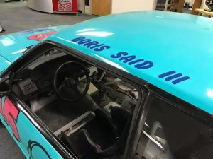 Boris Said III made his entry to pro racing in the Baer car. While a difficult debut due to under-funding, the effort certainly helped him get noticed. Eventually, Boris would race almost anything with four wheels from Baja to NASCAR, Le Mans to Daytona.