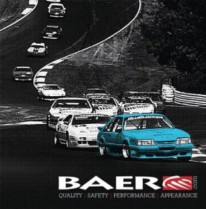 One of the more famous photos of the Baer Mustang leading the way through the Road Atlanta esses was made into a poster. The hard work racing definitely helped legitimize and promote the Baer name when it turned to brake manufacturing.