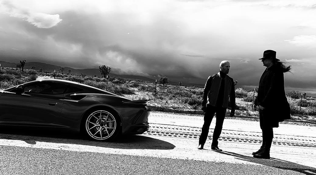 Saleen 1 with Jason Statham