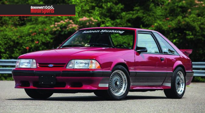 GRASSROOTS MOTORSPORTS: CLASSIC COOL | SALEEN MUSTANG