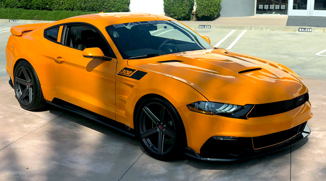 SALEEN BUILDS ORANGE FURY S302 BLACK LABEL