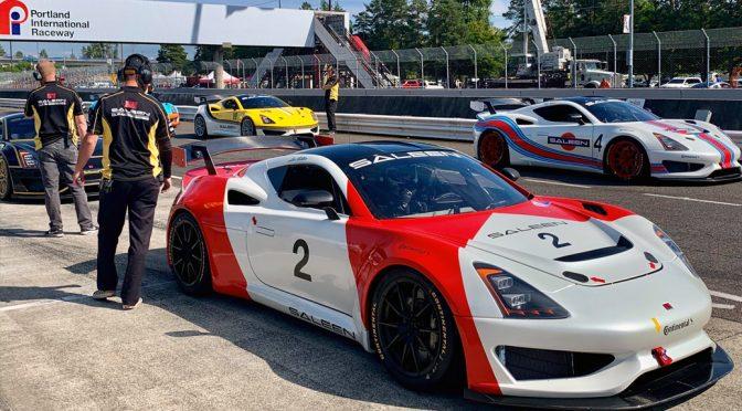 SALEEN CUP RACING SERIES DEBUTS AT PORTLAND INTERNATIONAL RACEWAY