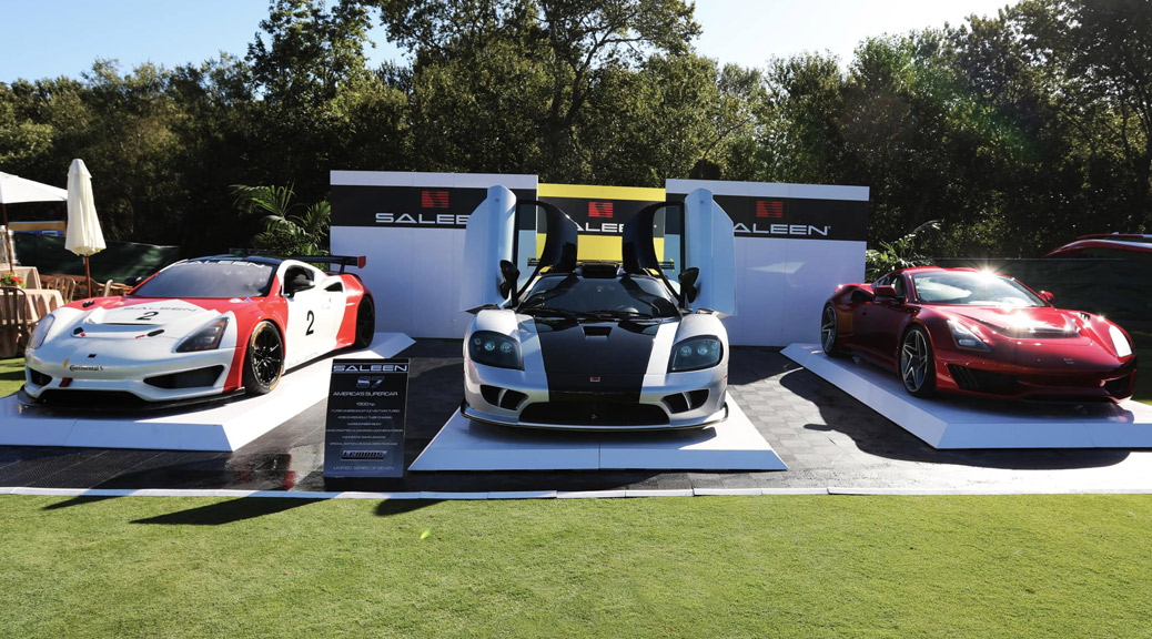 SALEEN AUTO DISPLAYS AT THE QUAIL