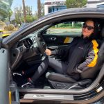 Martina Kwan Visits Saleen Automotive