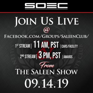 SOEC Live Stream 09.14.19